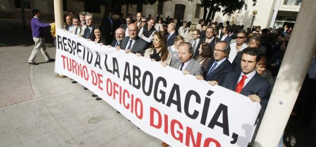 Cae la retribución del abogado del Turno de Oficio, según el IX Informe del Observatorio de la Justicia Gratuita