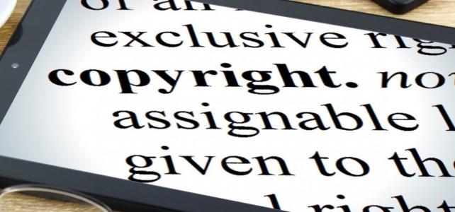 El copyright: derechos de autor en Internet