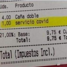 ¿Es legal la 'tasa Covid' que cobran algunos restaurantes y bares?